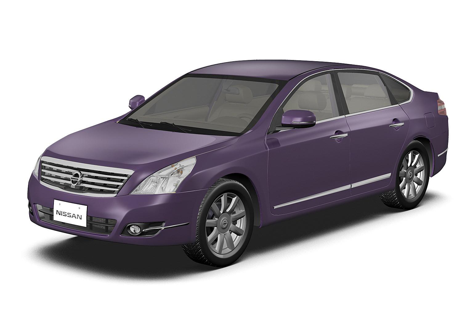2009 Nissan Teana 3D Model MAX OBJ 3DS FBX C4D LWO LW LWS
