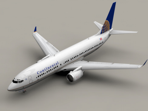 Boeing 737-800 Continental Airlines