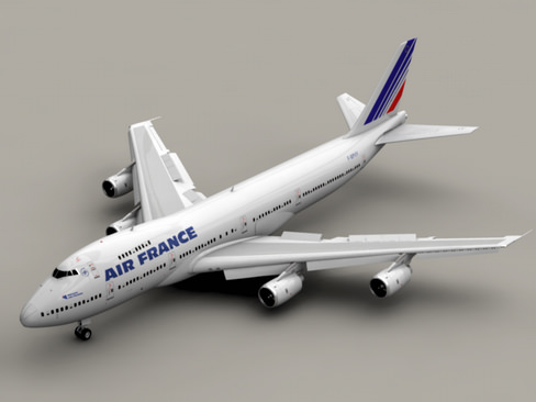 Boeing 747-200 Air France