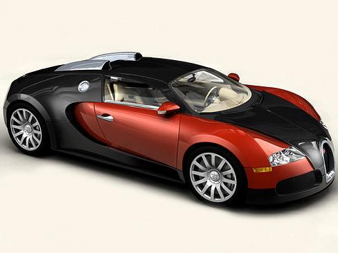 bugatti veyron 3d model vehicle cgtrader. Black Bedroom Furniture Sets. Home Design Ideas