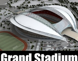 Grand Stadium 015 Arena At Winter 3D