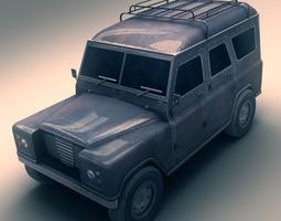 SUV 2 3D Model