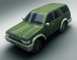 SUV 1 3D Model