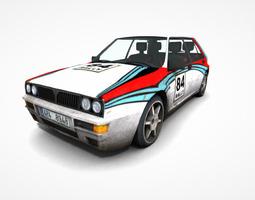 3D model Rally Sports Car