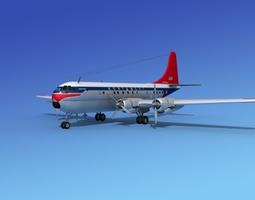 Boeing 377 Northwest Airlines 1 3D