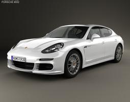 3D model Porsche Panamera S E-Hybrid 2014