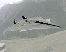 FA-70 Panther Poser Vue 3D Model