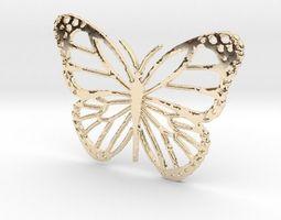 3D print model Monarca Pendant