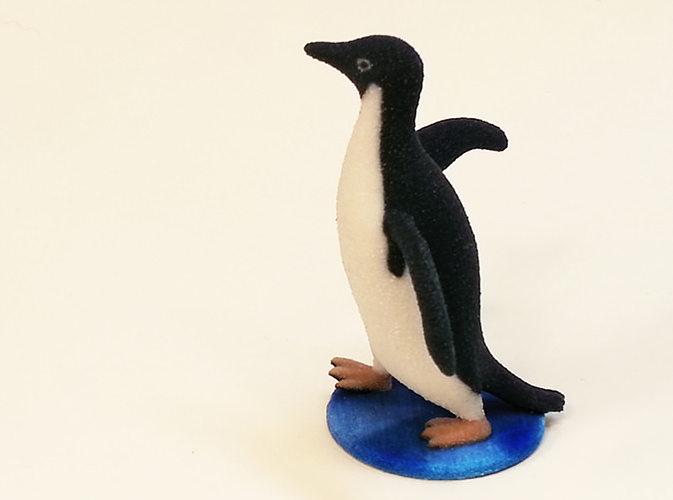 socially awkward penguin 3d model wrl wrz 1