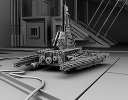 3d legacy vi shuttle design