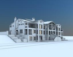 Holiday Villas 3D model