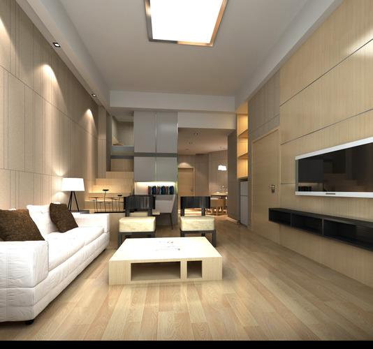 florid living room with artistic sofa 3d model max 1
