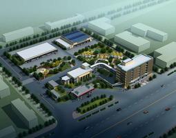 Aristocratic Urban Commercial Area 3D