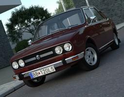 Skoda 120 LS 1977 3D model