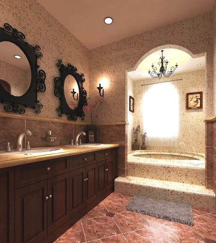 3d model elite bathroom design cgtrader for Bathroom remodel 3d