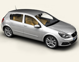 Generic Car Compact Class 3D model