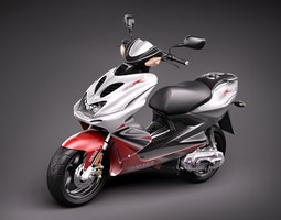 Yamaha Aerox R 3D Model