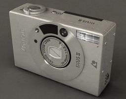ixus ii 3d model hrc xsi
