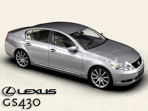 lexus gs300 430 3d model max obj mtl 3ds tga 1