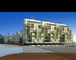 urban designed aristocratic citsyscape 3d model