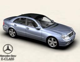 3D Mercedes E-Class