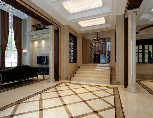 piano hall with lavish interior  3d model max 1