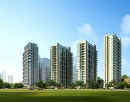 3d building 860