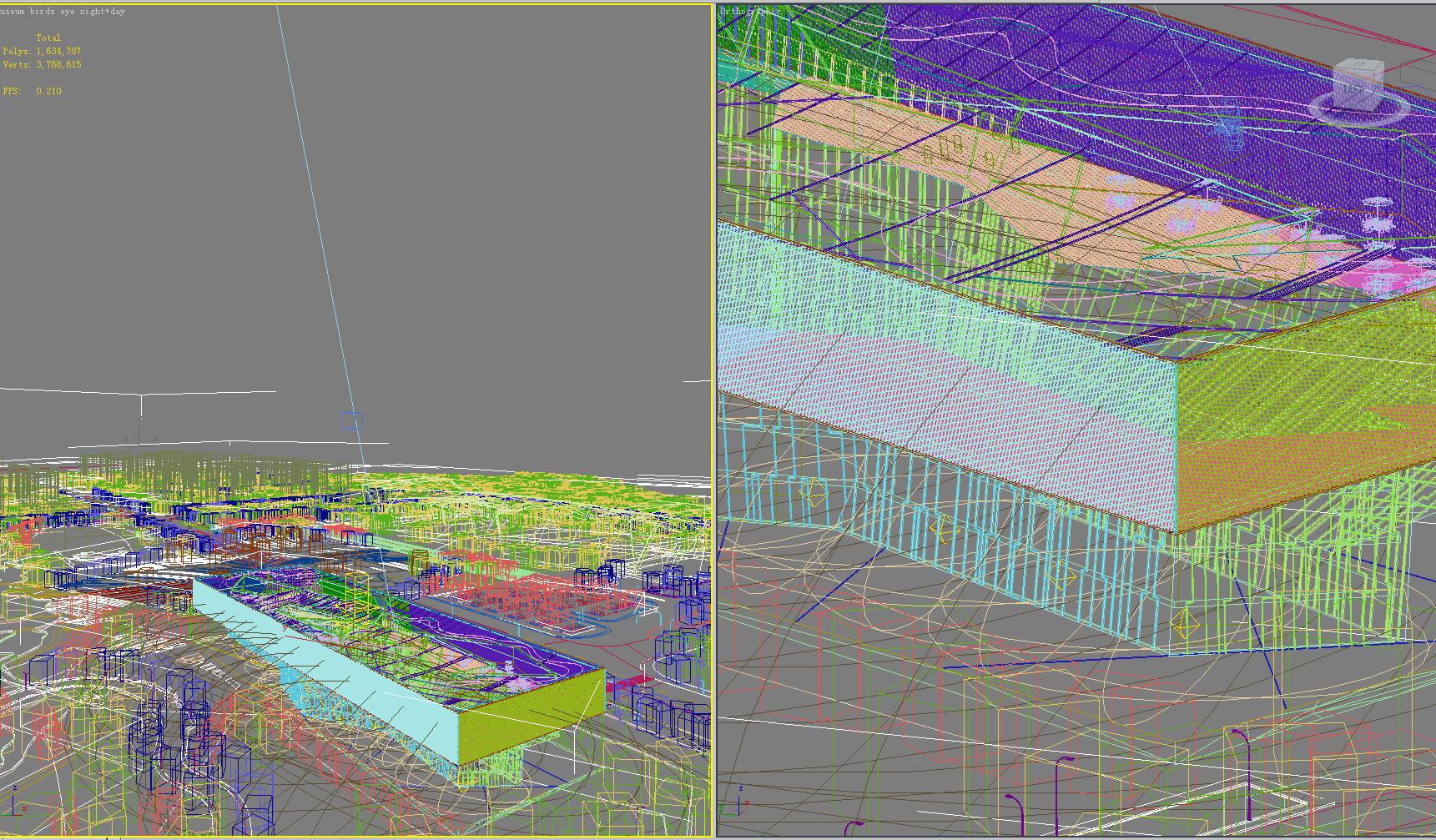 3d building 359 3d model max for 3d max building