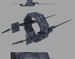 Narlokian gate 2 3D model