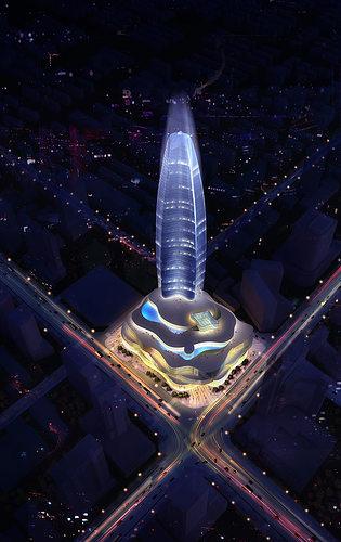 night skyscraper cityscape 441 3d models 3d model max 1