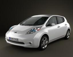 3D model Nissan LEAF 2011