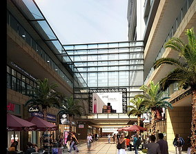 Shopping Mall Scene 551 3D Models