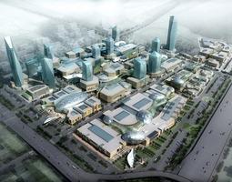 3d Building Cityscape Block 088