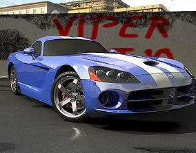 3D model Viper SRT
