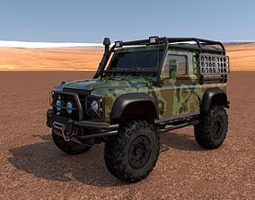 3D model Land Rover Defender Off-Road