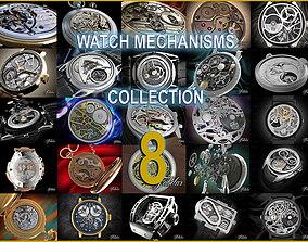 Watch mechanisms coll 8 3D model