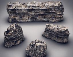 3D model Rocks Stones set