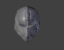Halo 4 Dead Eye Concept Helmet 3D