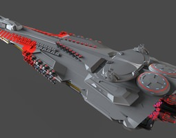 pg defense cruiser 3d