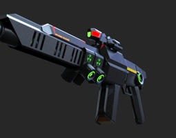 PG Pulse Rifle 3D model