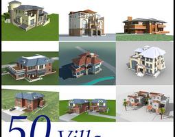 3D model Villa Collection 50 items Vol2