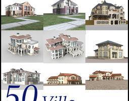 3D Villa Collection 50 items Vol3