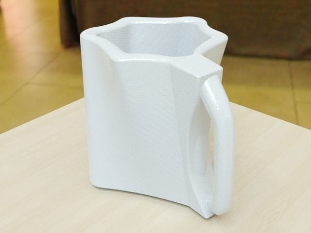 stylish mug design concept cad model 3d model stl 1