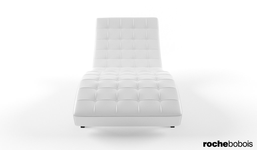 Roche bobois dolce chaise lounge 3d model max for Chaise modele