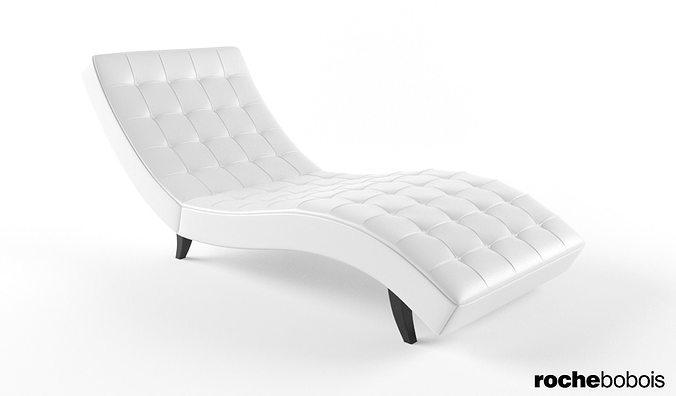 3D Roche Bobois Dolce chaise lounge | CGTrader