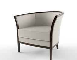Bernhardt Design Madeleine armchair 3D model