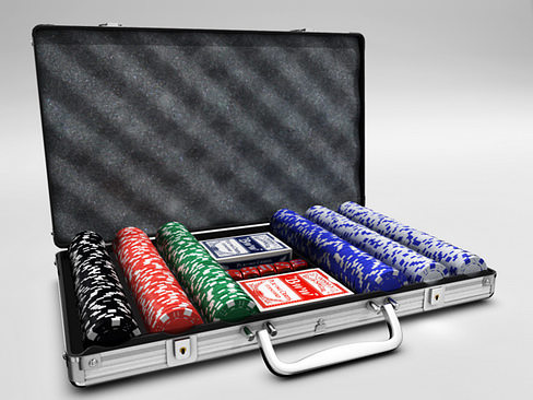 poker case 3d model max obj mtl 3ds c4d lwo lw lws ma mb 1