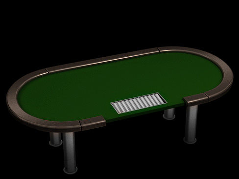 poker tournament table 3d model max obj mtl 3ds c4d lwo lw lws ma mb 1