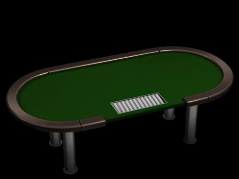 Poker tournament table