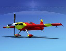 3d rigged extra flugzeugbau ea300s v09